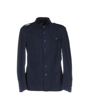Пиджак WOOSTER + LARDINI. Цвет: темно-синий