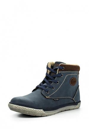 Ботинки Fullstop. Цвет: синий