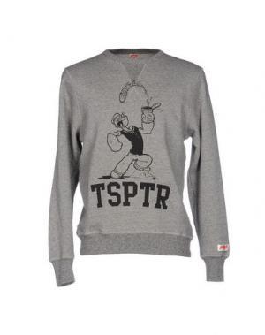 Толстовка TSPTR. Цвет: серый
