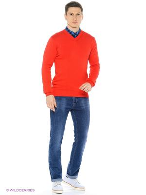 Пуловер Dairos. Цвет: красный