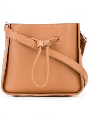 Мини сумка через плечо Soleil 3.1 Phillip Lim. Цвет: телесный