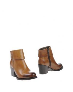 Полусапоги и высокие ботинки CAMPANILE. Цвет: коричневый