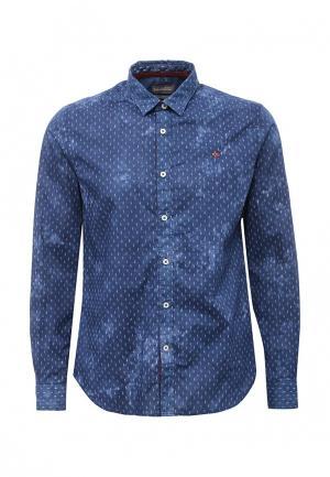 Рубашка Napapijri. Цвет: синий