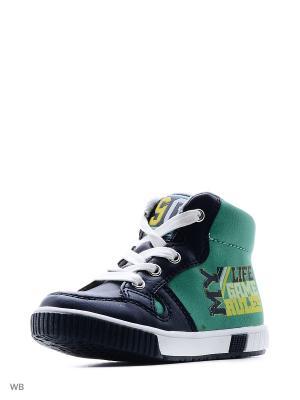 Ботинки Indigo kids. Цвет: зеленый