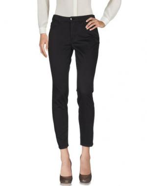 Повседневные брюки HENRY COTTON'S. Цвет: темно-коричневый