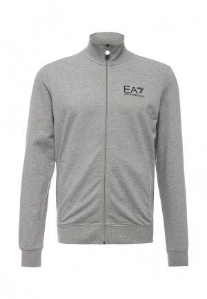 Олимпийка EA7. Цвет: серый