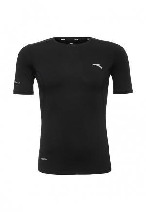 Футболка спортивная Anta. Цвет: черный