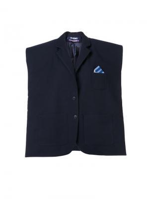 Структурированный пиджак свободного кроя Jacquemus. Цвет: синий