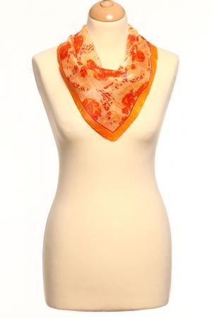 Платок F.FRANTELLI. Цвет: красный, оранжевый