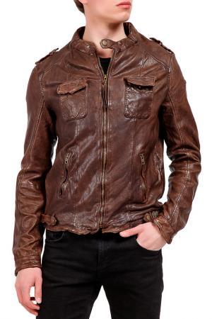 Jacket Isaco & Kawa. Цвет: brown