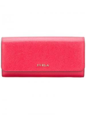 Континентальный кошелек Babylon Furla. Цвет: красный