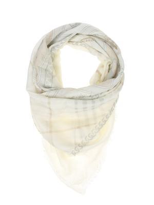 Платок Migura. Цвет: молочный, серый