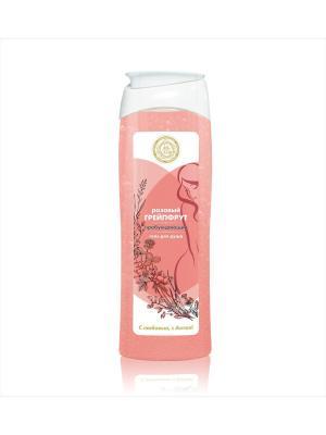 Пробуждающий гель для душа  Малавит Розовый грейпфрут 530 мл. Цвет: прозрачный