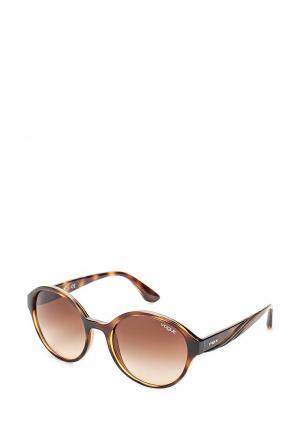 Очки солнцезащитные Vogue® Eyewear. Цвет: коричневый