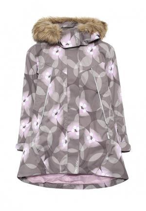 Куртка утепленная Reima. Цвет: коричневый