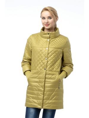Куртка Alyaska. Цвет: горчичный