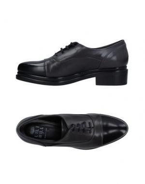 Обувь на шнурках LILIMILL. Цвет: свинцово-серый