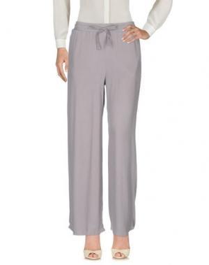 Повседневные брюки DIMENSIONE DANZA. Цвет: серый