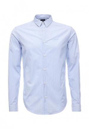 Рубашка Armani Jeans. Цвет: голубой