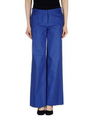 Повседневные брюки DANIELA PANCHERI. Цвет: синий