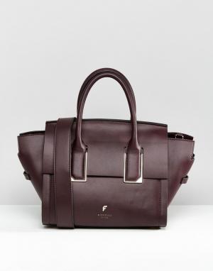 Fiorelli Маленькая сумка‑тоут Hudson. Цвет: фиолетовый