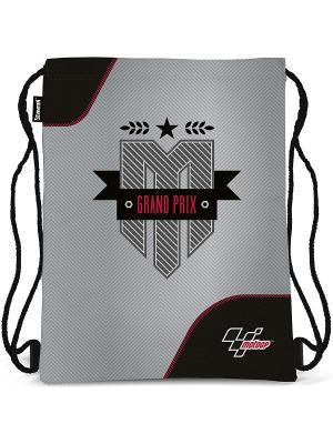 Сумка-рюкзак для обуви Moto GP. Цвет: серый