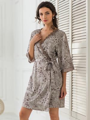 Кимоно MIA-MELLA. Цвет: серый