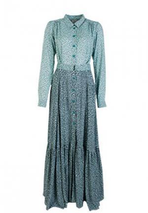 Платье NOLO. Цвет: зеленый