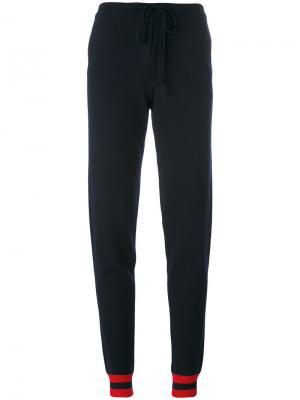 Спортивные брюки с сердцем сзади Chinti & Parker. Цвет: синий