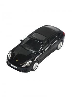 Машинка Porsche Panamera Turbo, Черная (1:43) (PS-444009-BL) Pit Stop. Цвет: черный