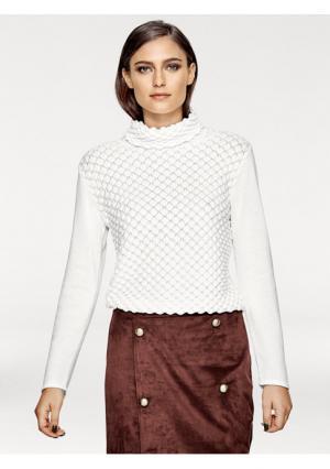 Пуловер Rick Cardona. Цвет: молочно-белый