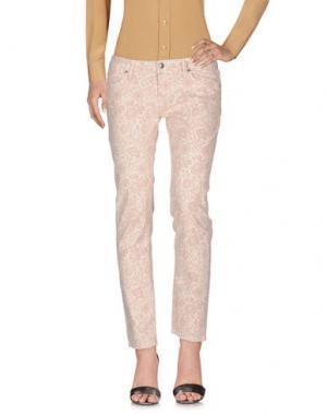 Повседневные брюки ROŸ ROGER'S. Цвет: слоновая кость