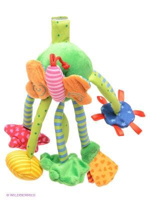 Развиващая игрушка Бабочка Sigikid. Цвет: зеленый, желтый