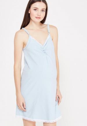 Сорочка ночная Фэст. Цвет: голубой