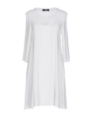 Короткое платье TOTON COMELLA - TCN. Цвет: белый