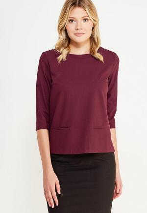 Блуза Emka. Цвет: бордовый
