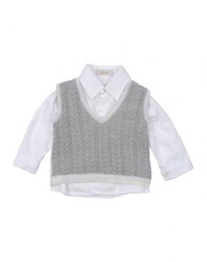 Pубашка LADIA. Цвет: белый