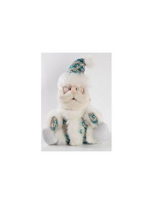 Кукла Дед Мороз 32 см Новогодняя сказка. Цвет: голубой