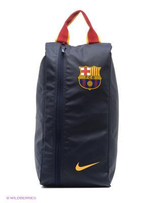 Сумка ALLEGIANCE BARCELONA SHOE BAG Nike. Цвет: синий, красный, желтый