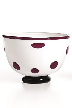 Чаша-салатник Zafferano. Цвет: фиолетовый