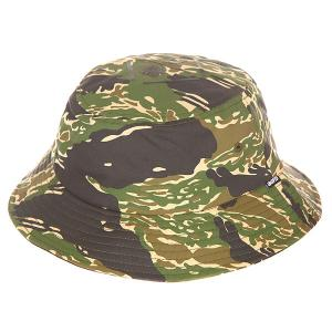 Панама  Regiment Bucket Hat Tiger Camo Undefeated. Цвет: зеленый,бежевый,коричневый