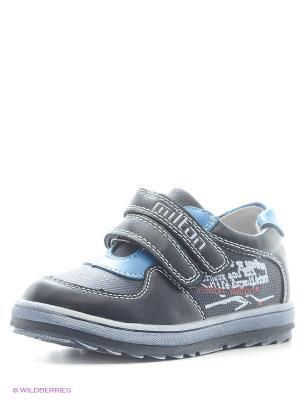 Ботинки Milton. Цвет: синий