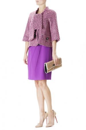 Жакет с укороченными рукавами Marc Jacobs. Цвет: розовый