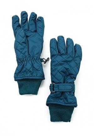 Перчатки Gulliver. Цвет: бирюзовый