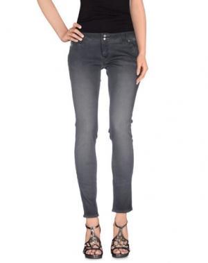 Джинсовые брюки JFOUR. Цвет: свинцово-серый
