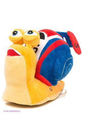 Мягкая игрушка Улитка Турбо Мульти-пульти. Цвет: желтый, синий