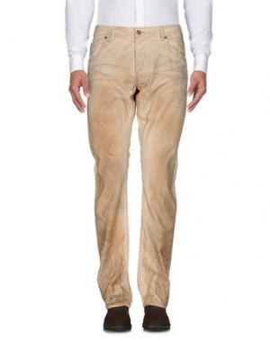 Повседневные брюки KOHZO. Цвет: бежевый