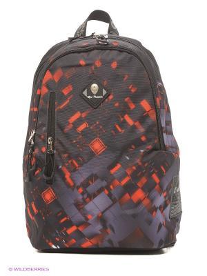 Рюкзаки UFO PEOPLE. Цвет: серый, оранжевый, антрацитовый