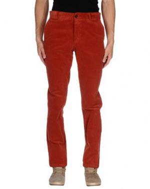 Повседневные брюки CONTE OF FLORENCE. Цвет: ржаво-коричневый