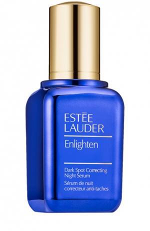 Ночная сыворотка, корректирующая неровный тон Estée Lauder. Цвет: бесцветный
